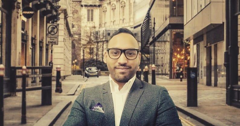 Abul Hussain in London