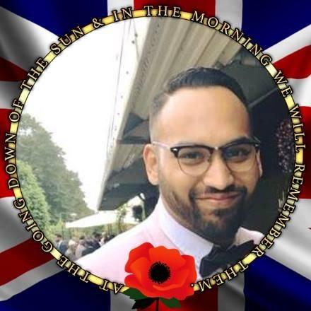 Abul Hussain @Poppy Appeal