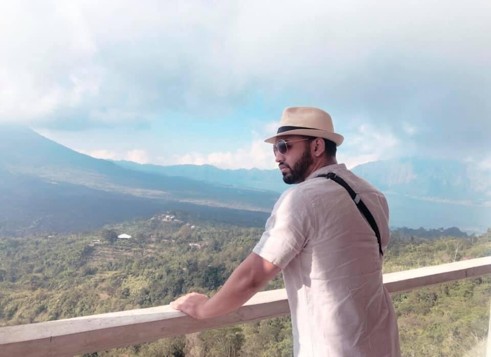 Abul Hussain @Mt Agung