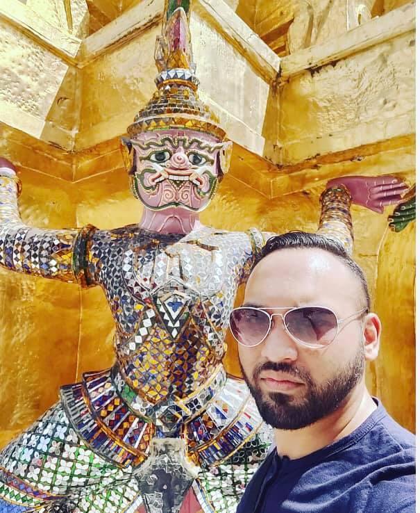 Abul Hussain @Bangkok Grand Palace