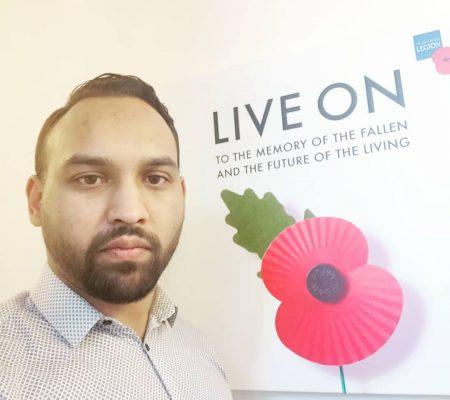 Abul Hussain British Legion